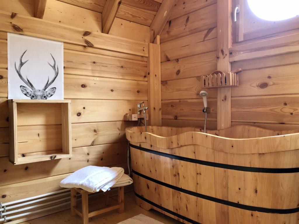 Salle de bain Faons
